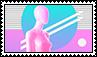 Vaporwave Stamp // f2u