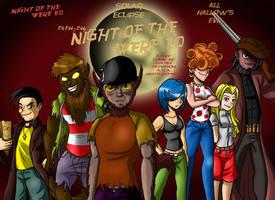 Night of the Were-Ed DVD Box by Chillguydraws