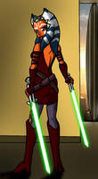 Ahsoka Tano by Chillguydraws