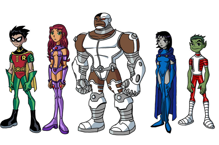 Teen Titans from Earth 5891 by Chill8ter