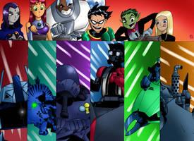 Titans Wars (Commission)