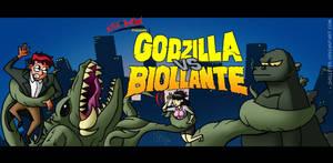 Godzilla VS Biollante (Commission)