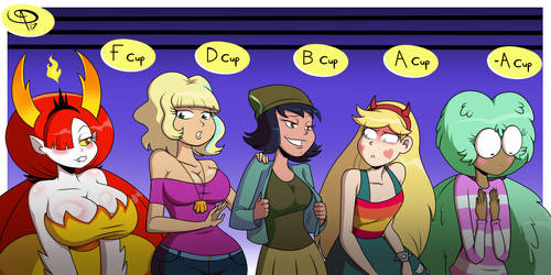 Star vs The Forces of Oppai