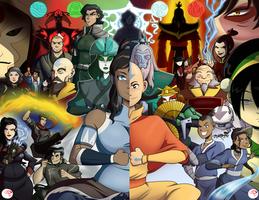 The Avatar Saga by Chillguydraws