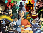The Avatar Saga by Chillguydraws