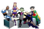 Teen Titans Entertainment Weekly