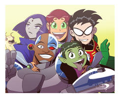 Forever Titans by Chillguydraws