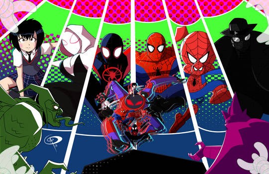 The Spider-Verse by Chillguydraws