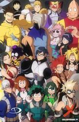 My Hero Academia - Class 1A by Chillguydraws