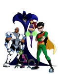 Earth 24: Teen Titans (No Text)