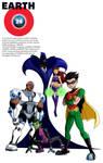 Earth 24: Teen Titans (Text)