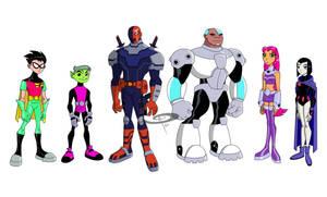 GO Teen Titans!