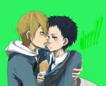 KidaXMikado ice cream
