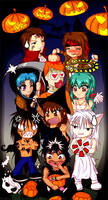 Happy Halloween - YYH by emuchiya