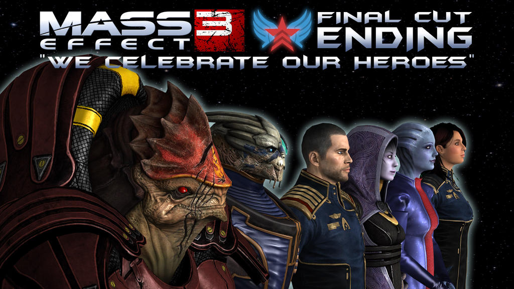 Mass Effect 3 Final Cut Ending [Cover] by Arch-21