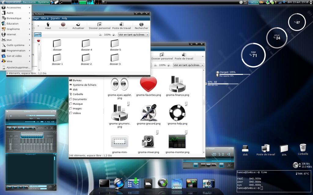 3d Desktop Linux Is Not Vista By Lieshamza On Deviantart