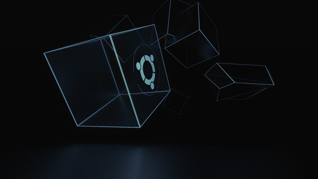 Ubuntu logo wallpaper by cyrkiel-network