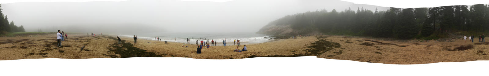 Giant Beach Panorama by stpmsngwthmyhed