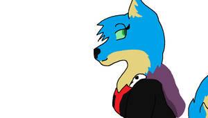 Pretty Wolfie by NinjatheChameleon