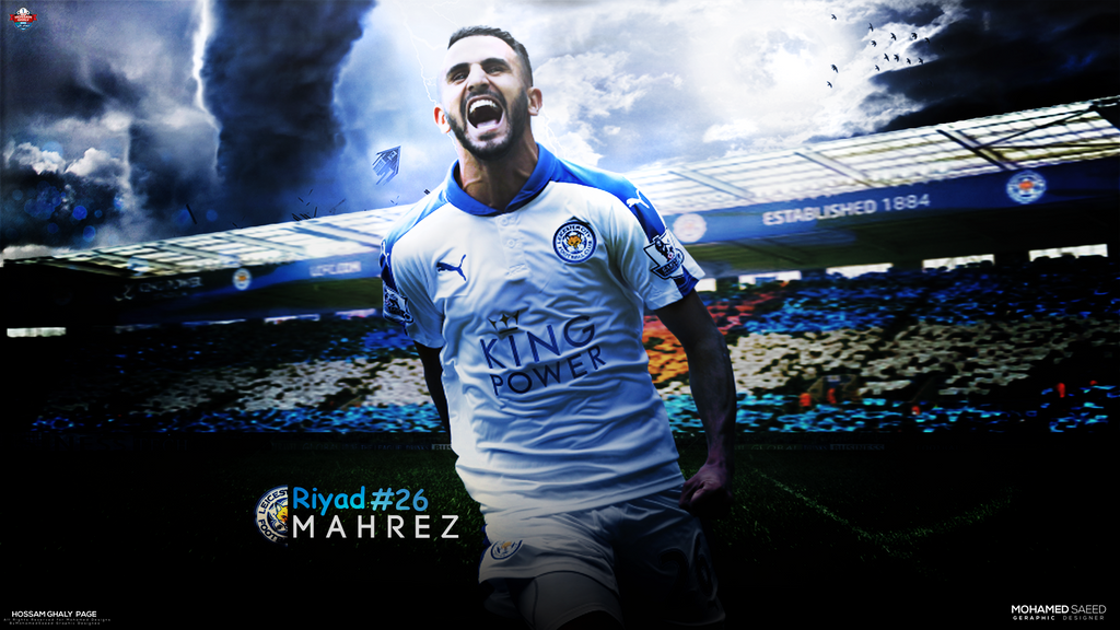 Riyad Mahrez By MDesign999 On DeviantArt