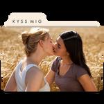 Kyss Mig (Kiss Me) Folder Icon 02 by MaxineChernikoff