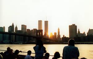 WTC Sunset by vangry