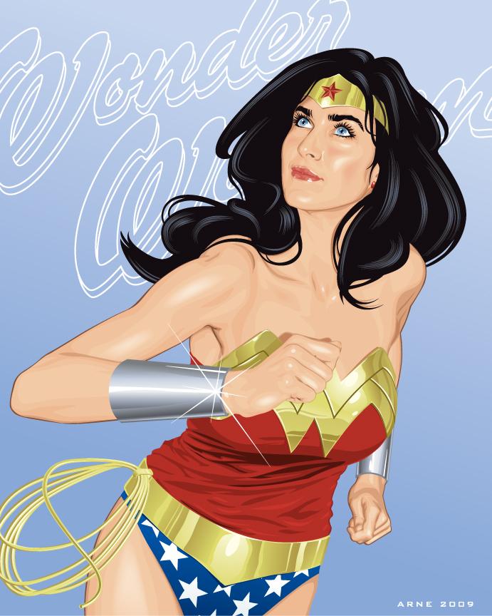 Wonder Woman by ratscape