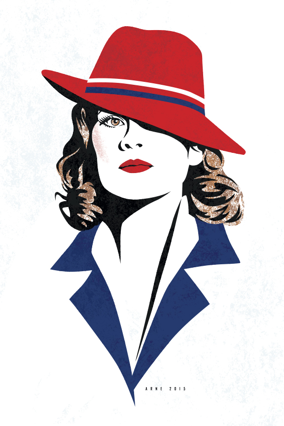 Peggy Carter by ratscape