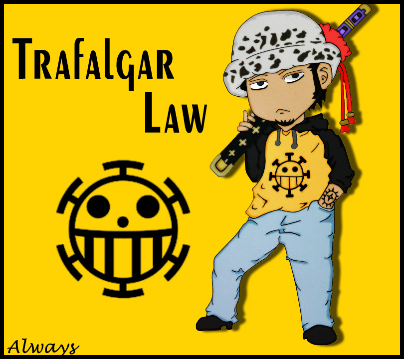 Trafalgar Law [Chibi] by ImiEnzzz on DeviantArt