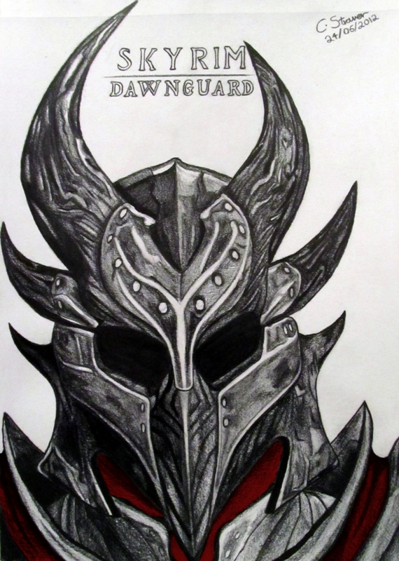 above is skyrim drawing - photo #29