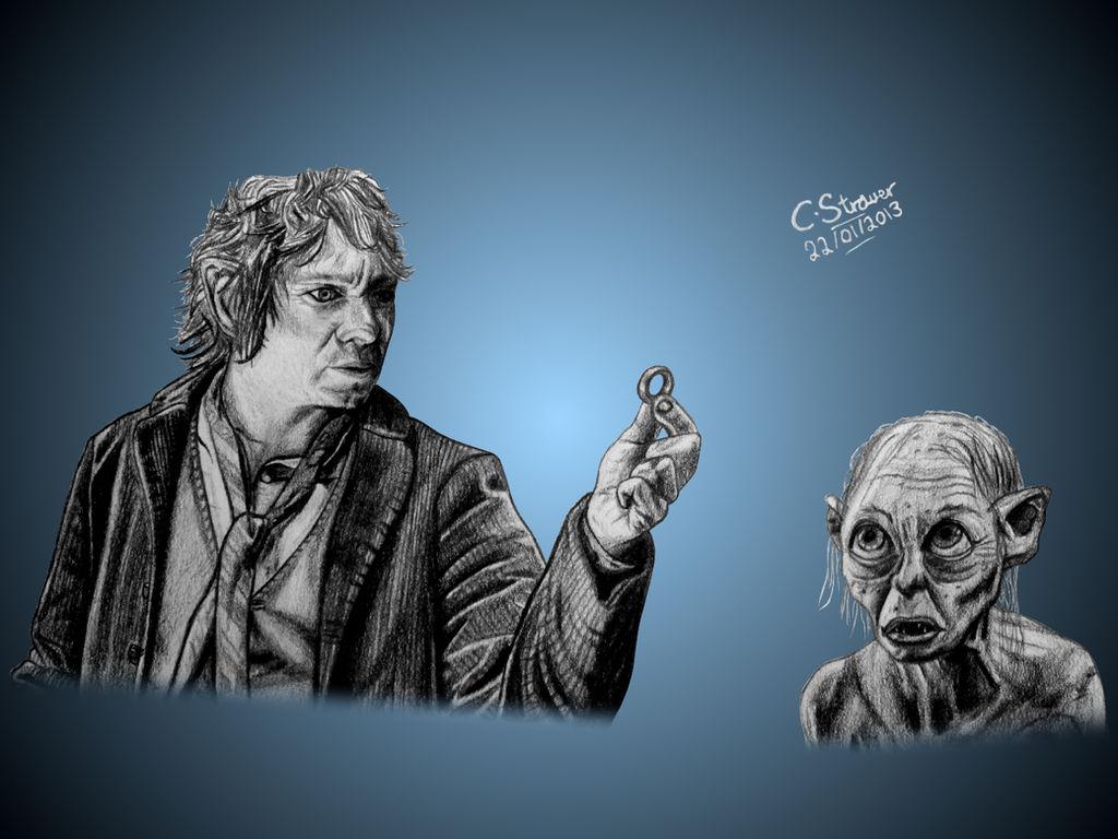 The Hobbit Fan Art Drawing By Lethalchris On Deviantart