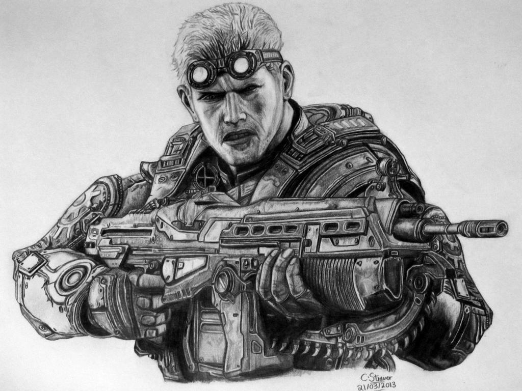 Gears of War Drawings Drawing in Pencil Gears