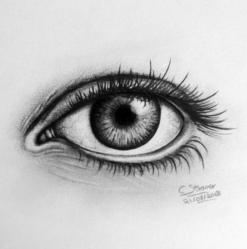 Realistic Eye Drawing by LethalChris on DeviantArt