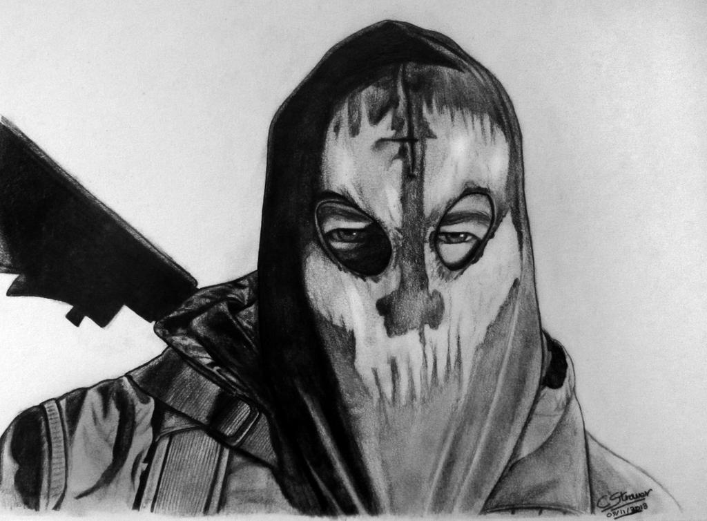 Call Of Duty Ghosts Fan Art Drawing By Lethalchris On Deviantart