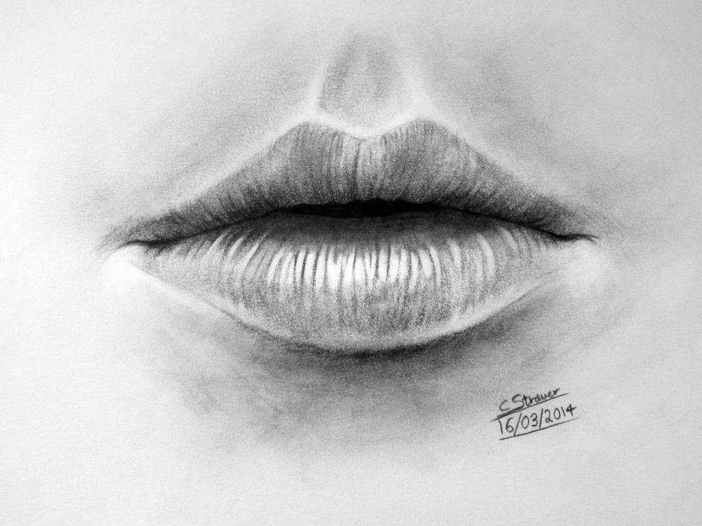 Realistic Mouth Drawing - LethalChris by LethalChris on ...