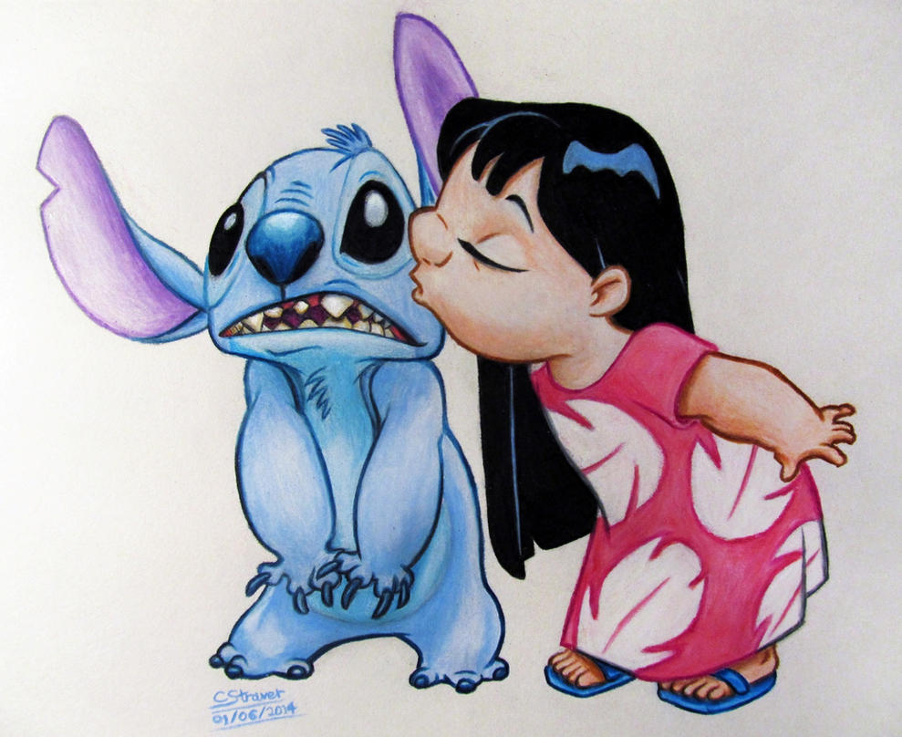 Uncategorized Drawing Lilo And Stitch lilo and stitch fan art drawing by lethalchris on deviantart lethalchris