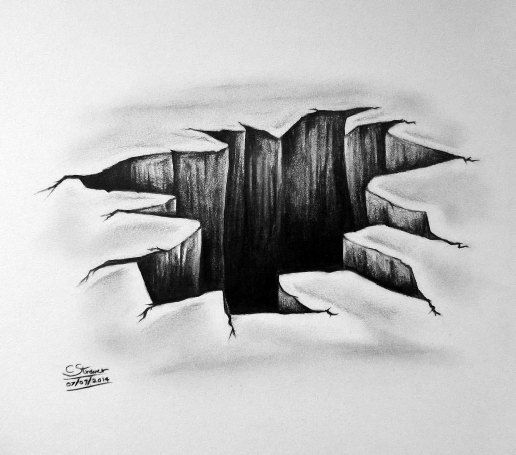 3D Hole Drawing - Optical Illusion by LethalChris on ...