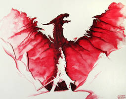 Dragon Age: Inquisition - Watercolour Painting