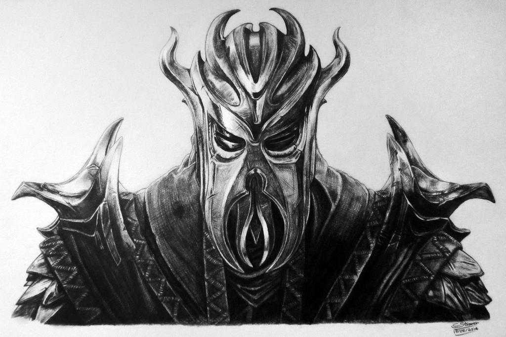 above is skyrim drawing - photo #10
