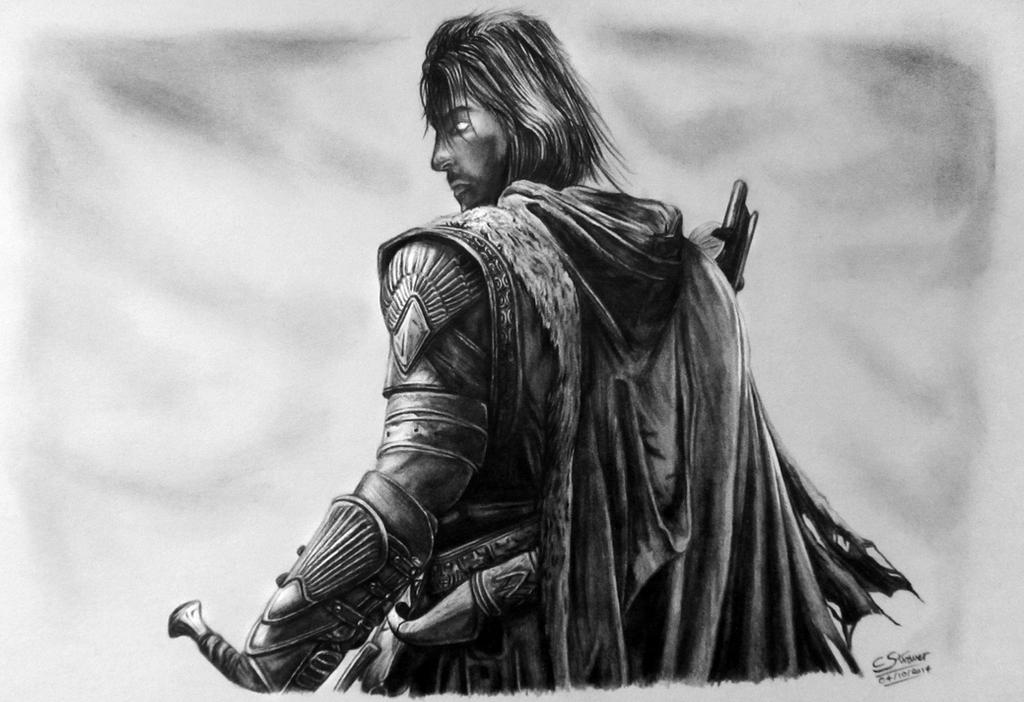 Middle-Earth: Shadow of Mordor Fan Art Drawing by LethalChris