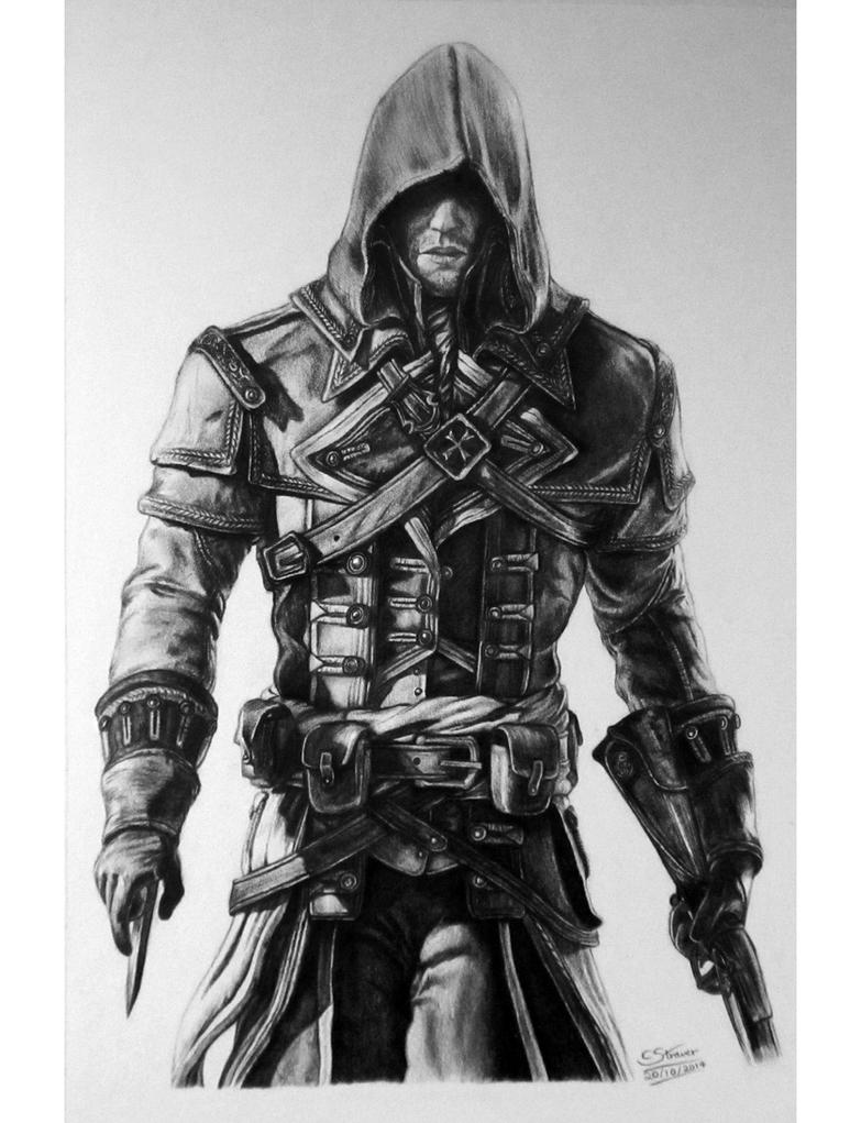 Assassin's Creed: Rogue Drawing by LethalChris