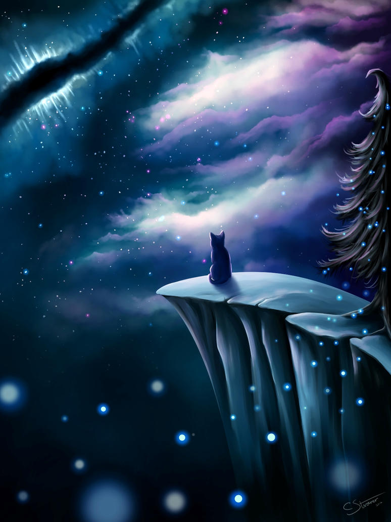 Solitude - Digital Painting by LethalChris