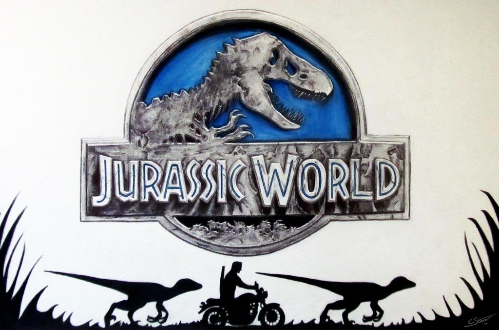 Jurassic World - Fan Art Drawing by LethalChris