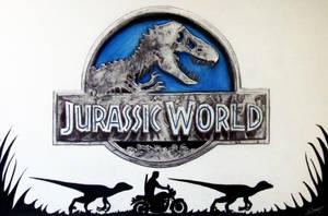 Jurassic World - Fan Art Drawing