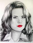 Marvel's Agent Carter - Fan Art Drawing