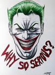 The Joker - Fan Art with Copic Markers