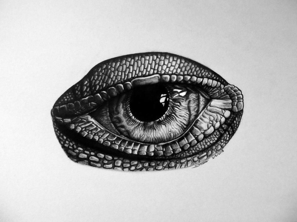 iguana eye painting-#47