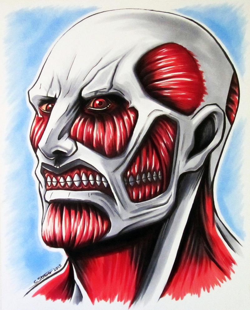 Colossal Titan - Attack on Titan Fan Art by LethalChris on DeviantArt