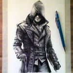 Jacob Frye Drawing - Assassin's Creed Syndicate