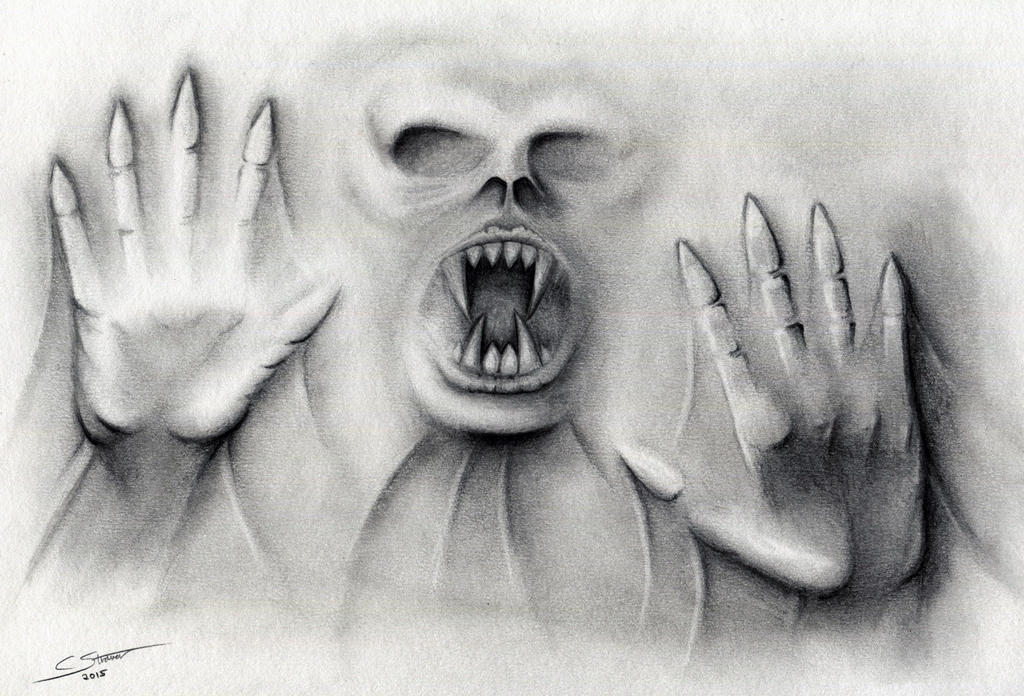 Scary Drawing Illusion - Halloween 2015 by LethalChris on DeviantArt